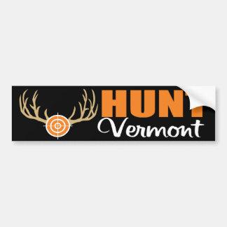 Caza Vermont Pegatina Para Auto
