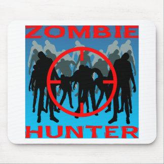 Cazador 003 del zombi alfombrilla de raton