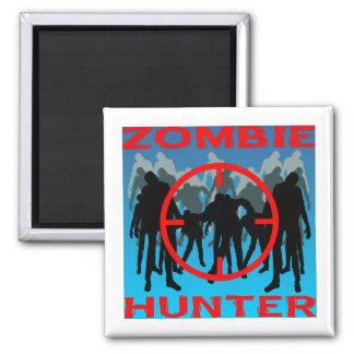Cazador #003 del zombi imán cuadrado