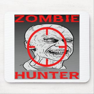 Cazador 004 del zombi alfombrilla de ratones
