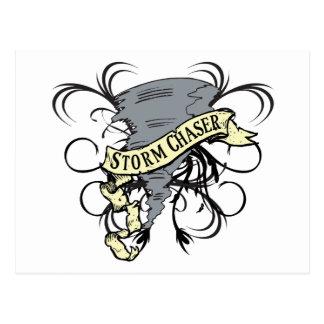 Cazador 1 de la tormenta tarjetas postales