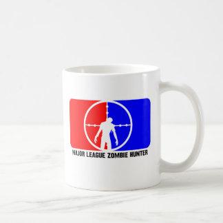 Cazador 1 del zombi de la primera división taza de café