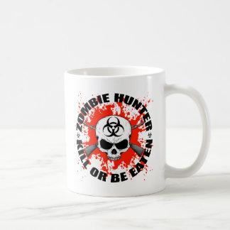 Cazador 1 del zombi tazas de café