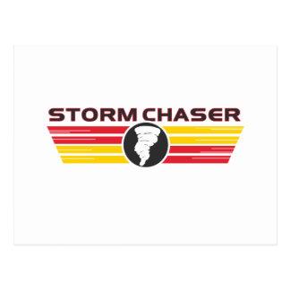 Cazador 2 de la tormenta tarjetas postales