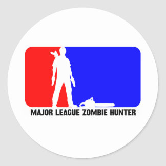 cazador 2 del zombi etiqueta