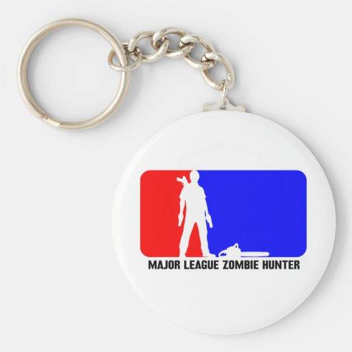 cazador 2 del zombi llavero redondo tipo pin