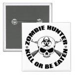 Cazador 2 del zombi pin