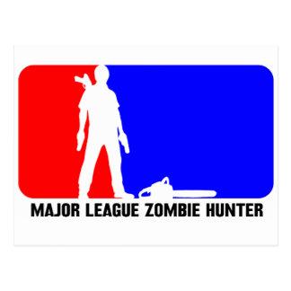 cazador 2 del zombi postales