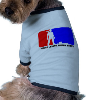cazador 2 del zombi camisa de perrito