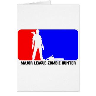 cazador 2 del zombi tarjetas