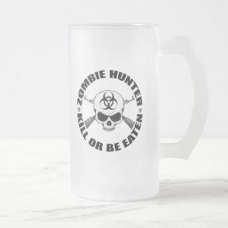 Cazador 2 del zombi taza de café
