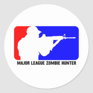 cazador 3 del zombi etiquetas
