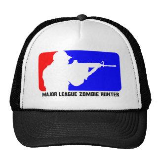 cazador 3 del zombi gorros bordados