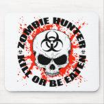 Cazador 3 del zombi tapetes de ratones