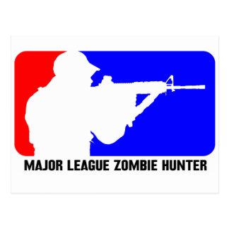 cazador 3 del zombi postales