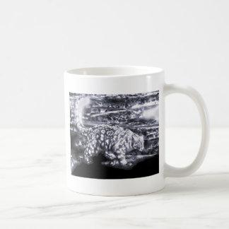 Cazador 4 de la nieve taza de café