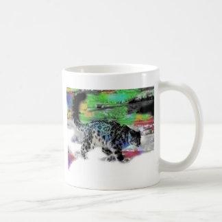 Cazador 5 de la nieve taza de café