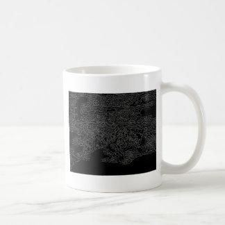 Cazador 6 de la nieve taza de café