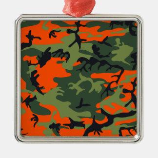 Cazador anaranjado Camo Adorno