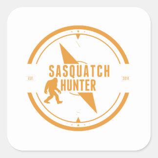 Cazador anaranjado de Sasquatch Colcomania Cuadrada