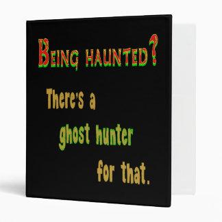 Cazador App del fantasma para ese (fondo negro)
