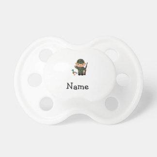 Cazador conocido personalizado del pato chupetes para bebes