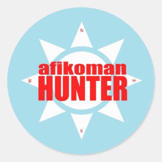 Cazador de Afikoman Pegatina