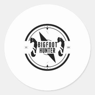 Cazador de Bigfoot Etiqueta
