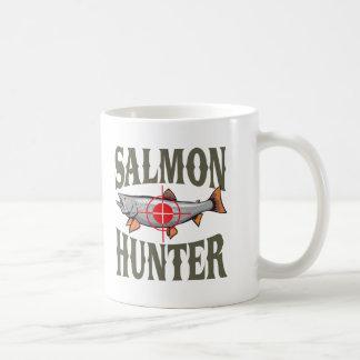 Cazador de color salmón taza de café