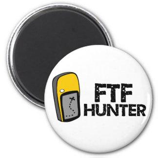 Cazador de FTF Imán Redondo 5 Cm