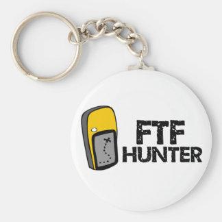 Cazador de FTF Llavero Redondo Tipo Pin