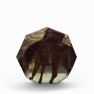 Cazador de Gustavo Courbet- a caballo