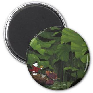 Cazador de Koi Imán Redondo 5 Cm