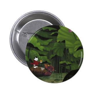 Cazador de Koi Pin Redondo 5 Cm