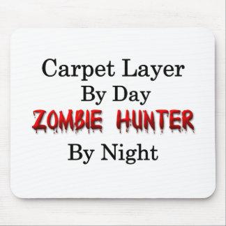 Cazador de la capa/zombi de la alfombra tapete de raton