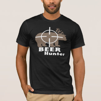 Cazador de la cerveza playera