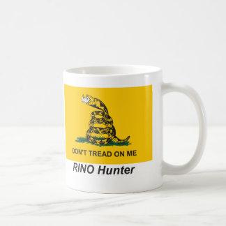 Cazador de la fiesta del té RINO Tazas