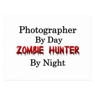 Cazador de la fotografía/del zombi postal