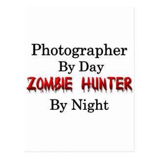 Cazador de la fotografía/del zombi postales