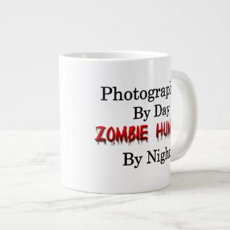 Cazador de la fotografía/del zombi taza grande
