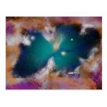 Cazador de la nebulosa tarjeta postal