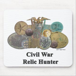 Cazador de la reliquia de la guerra civil alfombrilla de raton