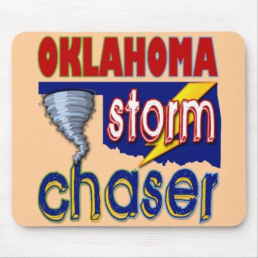 Cazador de la tormenta de Oklahoma Alfombrilla De Ratones