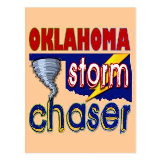 Cazador de la tormenta de Oklahoma Tarjeta Postal