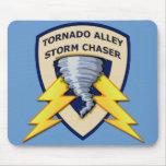 Cazador de la tormenta del callejón de tornado tapetes de ratones