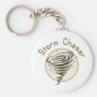 Cazador de la tormenta llavero personalizado