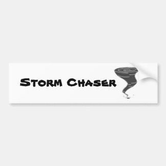 Cazador de la tormenta - pegatina para el pegatina para auto