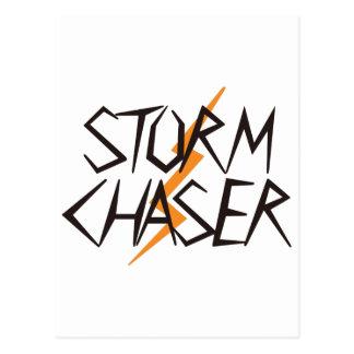 Cazador de la tormenta postales