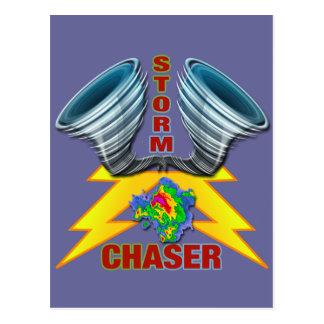 Cazador de la tormenta tarjetas postales