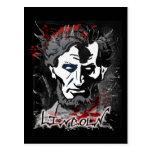 Cazador de Lincoln de la noche Postal